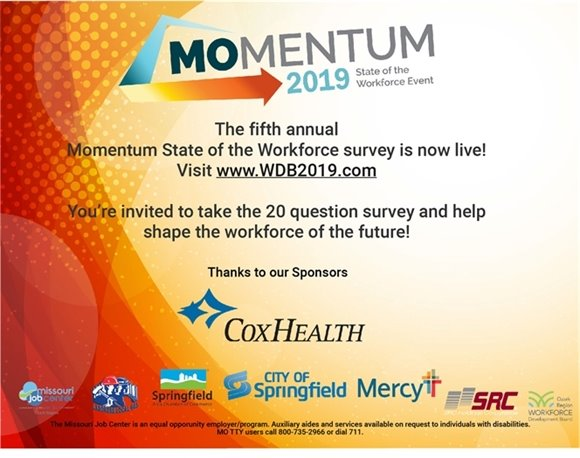 The fifth annual Momentum State of the Workforce Survey is now live!