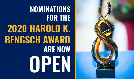 Nominations for the 2020 Harold K. Bengsch Award are now open