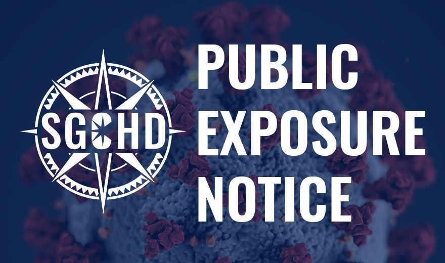 Public Exposure Notice