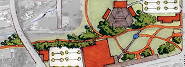 Artist's rendering of the East Meadows