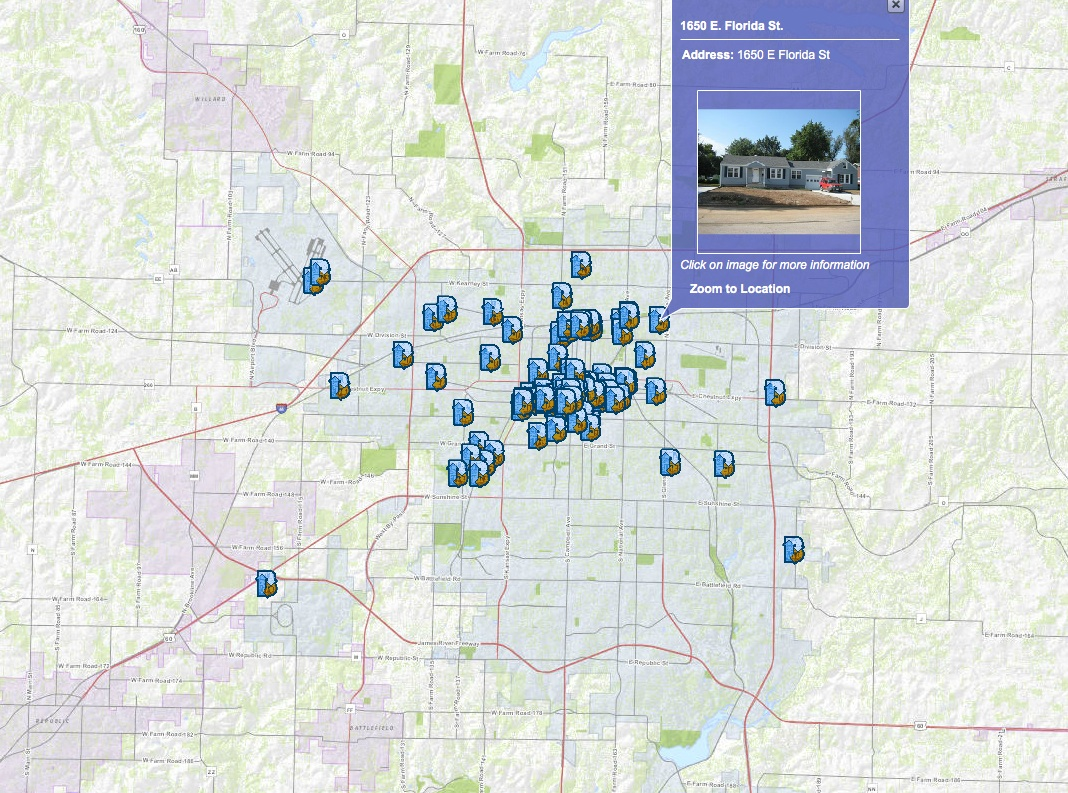 Interactive Maps Springfield Mo Official Website