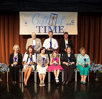 2014 Gift of Time award winners