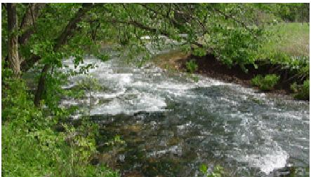 Purified water is allowed into Wilsons Creek.